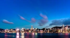 Hong Kong City and Skyscape. Hong Kong  City and Skyscape 2016 Stock Photo