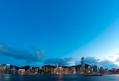 Hong Kong City and Skyscape. Hong Kong  City and Skyscape 2016 Stock Photography