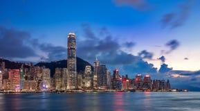 Hong Kong City and Skyscape. Hong Kong  City and Skyscape 2016 Royalty Free Stock Images