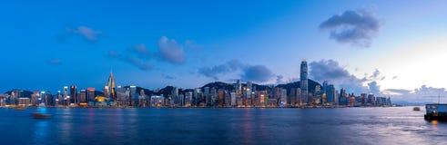 Hong Kong City and Skyscape. Hong Kong  City and Skyscape 2016 Royalty Free Stock Photos