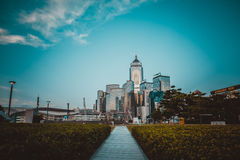 Hong Kong City and Skyscape. Hong Kong  City and Skyscape 2016 Stock Images