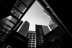 Hong Kong City and Skyscape Stock Image