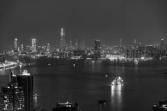 Hong Kong City and Skyscape. Hong Kong  City and Skyscape at night Stock Photos