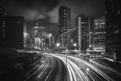 Hong Kong City and Skyscape. Hong Kong  City and Skyscape at night Royalty Free Stock Photos