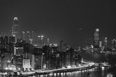Hong Kong City and Skyscape. Hong Kong  City and Skyscape at night Royalty Free Stock Image