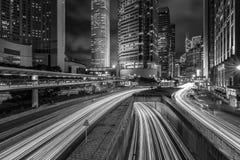 Hong Kong City and Skyscape. Hong Kong  City and Skyscape at night Stock Photography