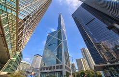 Hong Kong skyscraper Royalty Free Stock Photos