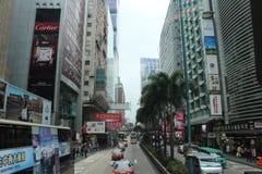 Hong Kong City. Streets in Hong Kong in the day royalty free stock photos