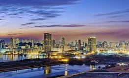 Hong Kong city sunset Royalty Free Stock Image