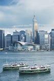 Hong Kong city Royalty Free Stock Photos