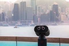 Hong Kong City View fotografía de archivo