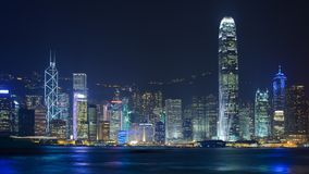 Hong Kong Cityscape Royalty Free Stock Images