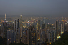 Hong Kong Cityscape photo libre de droits