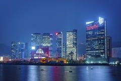 Hong Kong Cityscape Arkivfoto