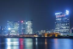 Hong Kong Cityscape Royaltyfri Foto