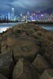 Hong Kong Cityscape Royaltyfri Bild