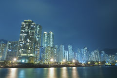 Hong Kong Cityscape Royaltyfria Foton