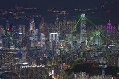 Hong Kong Cityscape Fotos de archivo libres de regalías