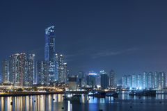 Hong Kong Cityscape Royaltyfria Bilder