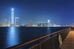 Hong Kong Cityscape Arkivbilder