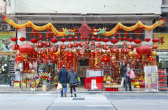 Hong Kong Cityscape Stockbilder