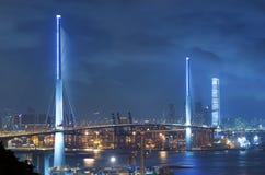 Hong Kong Cityscape Royaltyfri Fotografi