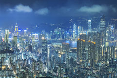 Hong Kong Cityscape Stock Photos