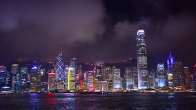 Hong Kong Cityscape stock video footage