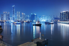Hong Kong Cityscape Stock Photography