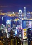 Hong Kong cityscape Stock Photography