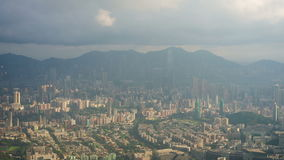 Hong Kong cityscape timelapse Stock Images