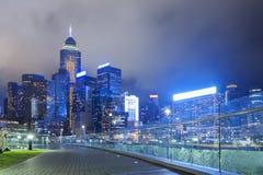 Hong Kong cityscape Stock Images