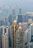 Hong Kong Cityscape Royalty Free Stock Photography