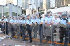Hong Kong Class Boycott Campaign 2014 Imágenes de archivo libres de regalías