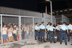 Hong Kong Class Boycott Campaign 2014 Stock Images