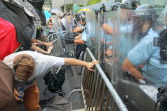 Hong Kong Class Boycott Campaign 2014 Stock Photos