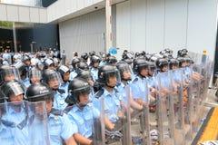 Hong Kong Class Boycott Campaign 2014 Royalty Free Stock Photos