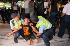 Hong Kong Class Boycott Campaign 2014 Stock Photo
