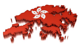 Hong Kong (clipping path included) Royalty Free Stock Photo