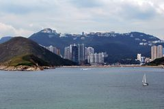 Hong Kong coastline Royalty Free Stock Image