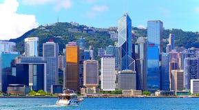 Hong kong coastline Stock Photos