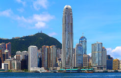 Hong kong coastline Stock Photo