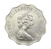 Hong Kong coins 1980, 2 dollars Stock Photography