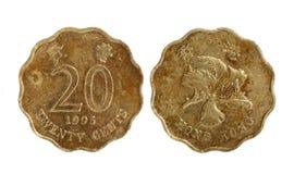 Hong Kong coins Royalty Free Stock Photo