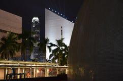 Hong Kong Commercial Building com construções recreacionais públicas Foto de Stock Royalty Free
