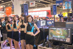 Hong Kong Computer & Communications Festival 2014 Stock Image