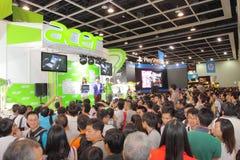 Hong Kong Computer y festival 2013 de las comunicaciones Fotos de archivo libres de regalías