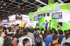 Hong Kong Computer y festival 2013 de las comunicaciones Imágenes de archivo libres de regalías
