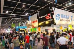 Hong Kong Computer y festival 2013 de las comunicaciones Fotografía de archivo