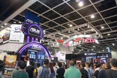 Hong Kong Computer y festival 2014 de las comunicaciones Imagen de archivo libre de regalías